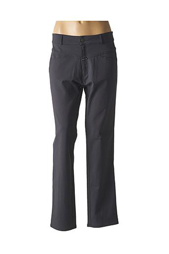Pantalon casual gris POUSSIERE D'ETOILE pour femme