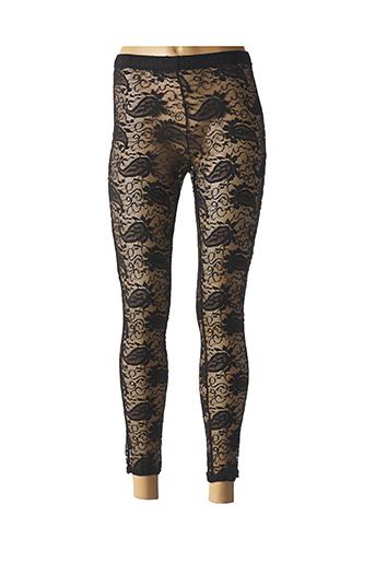 Pantalon casual noir FIFILLES pour femme