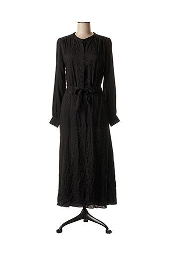 Robe mi-longue noir CKS pour femme