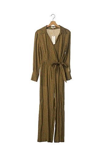 Combi-pantalon vert ARTLOVE pour femme