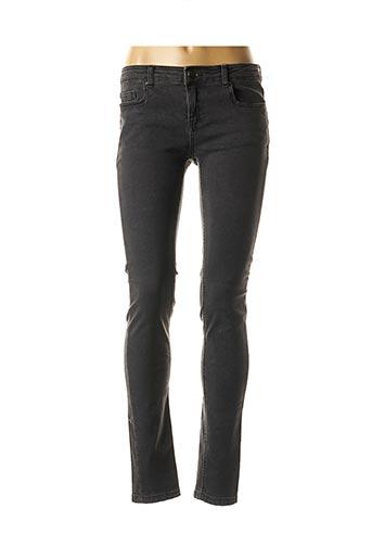 Jeans skinny noir BEST MOUNTAIN pour femme