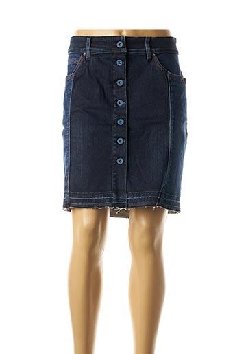 Jupe courte bleu SALSA pour femme