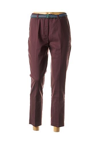 Pantalon 7/8 violet CKS pour femme