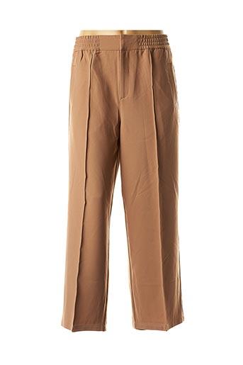 Pantalon chic marron CKS pour femme