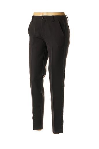 Pantalon chic noir BEST MOUNTAIN pour femme
