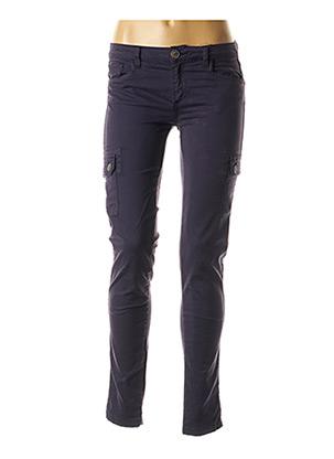 Pantalon casual bleu BEST MOUNTAIN pour femme