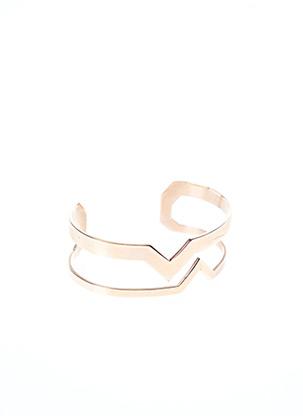 Bracelet Jonc rose ZAG pour femme