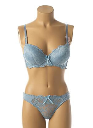 Ensemble lingerie bleu HANA pour femme