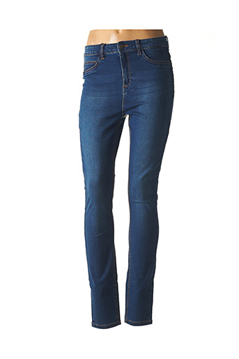 Jeans skinny bleu NOISY MAY pour femme