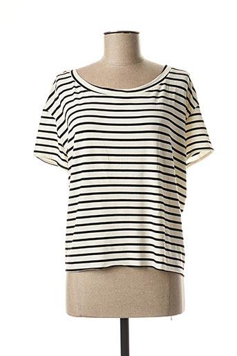 T-shirt manches courtes noir MOLLY BRACKEN pour femme