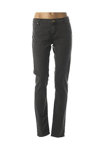 Jeans skinny noir SCHOOL RAG pour femme