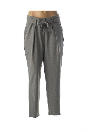 Pantalon casual gris ONLY pour femme