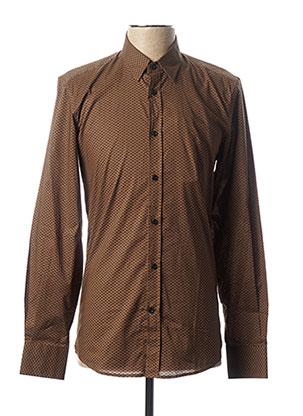 Chemise manches longues marron ANTONY MORATO pour homme