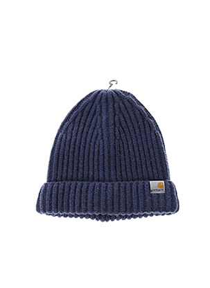 Bonnet bleu CARHARTT pour homme
