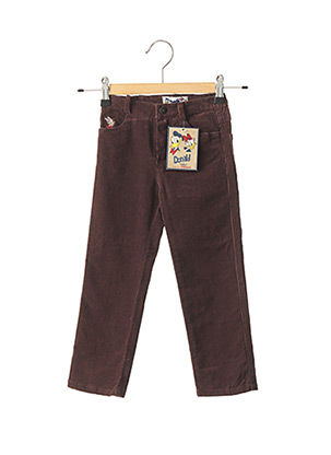 Pantalon casual marron FLORIANE pour fille