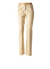 Pantalon chic beige FERRE pour femme seconde vue