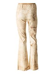 Pantalon casual beige DP JEANS pour femme seconde vue