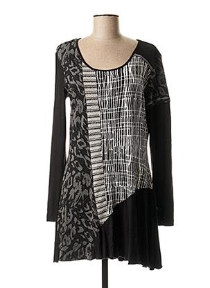 Robe courte noir FRED SABATIER pour femme