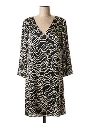 Robe courte noir ONE STEP pour femme