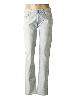 Jeans coupe droite bleu JAVEL pour femme