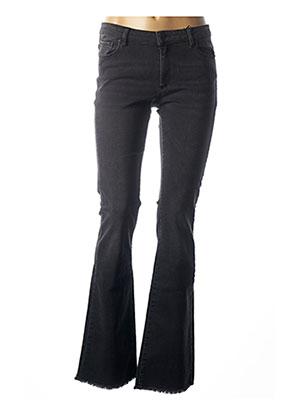 Jeans bootcut noir IKKS pour femme