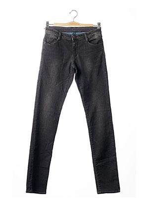 Jeans coupe slim noir APRIL 77 pour garçon