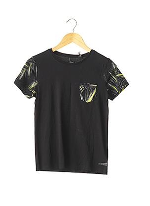 T-shirt manches courtes noir JAPAN RAGS pour garçon