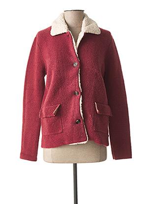 Manteau court rouge LE TEMPS DES CERISES pour fille