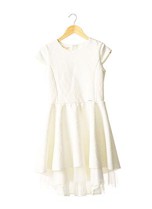 Robe mi-longue blanc LIU JO pour fille