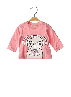 T-shirt manches courtes rose CHICCO pour fille