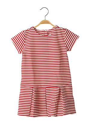 Robe courte rouge CHICCO pour fille