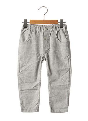 Pantalon casual gris GYMP pour garçon