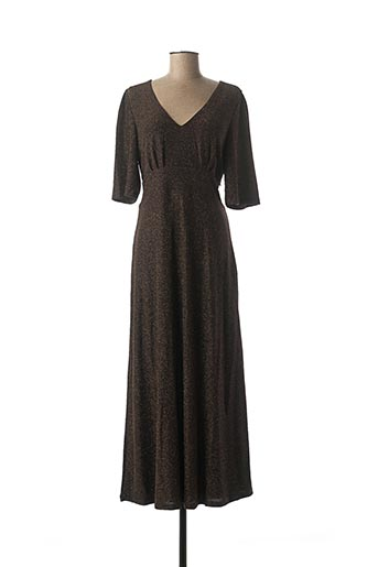 Robe longue marron KING LOUIE pour femme
