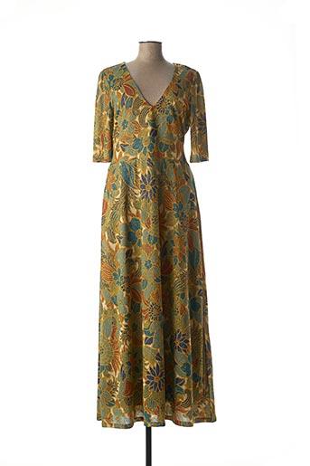 Robe longue vert KING LOUIE pour femme