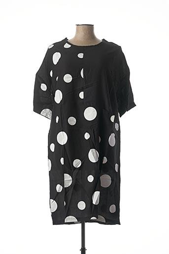 Robe mi-longue noir NESLAY pour femme