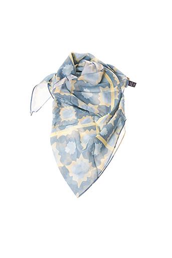 Foulard bleu KONTESSA pour femme