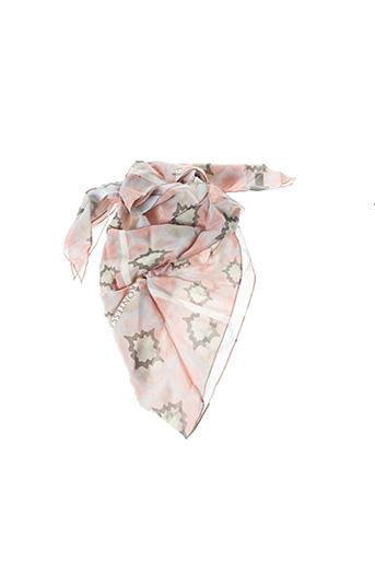 Foulard rose KONTESSA pour femme