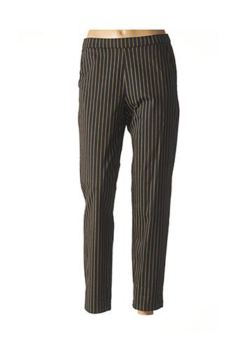 Pantalon 7/8 noir MASAI pour femme