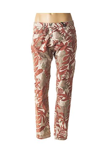 Pantalon casual rouge PLEASE pour femme