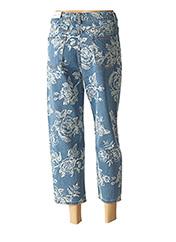 Pantalon 7/8 bleu WIYA pour femme seconde vue