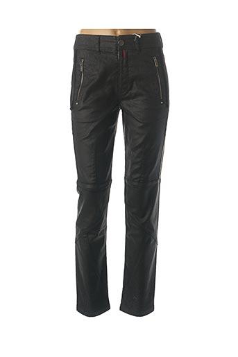 Pantalon casual noir HIGH pour femme