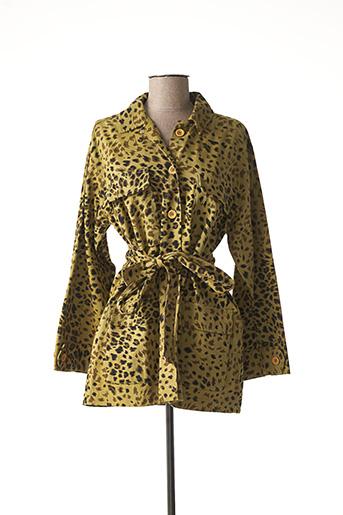Veste casual jaune ESSENTIEL pour femme