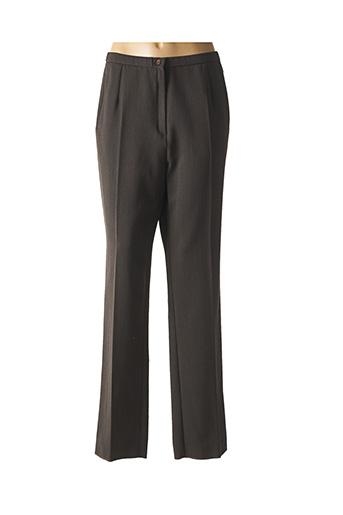Pantalon casual marron GEVANA pour femme