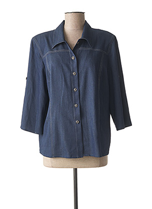 Veste casual bleu GEVANA pour femme