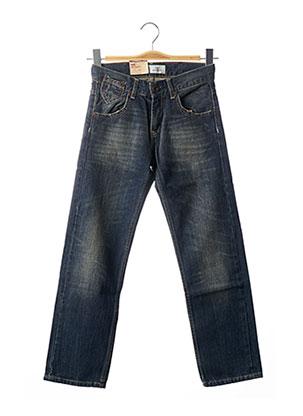 Jeans coupe droite bleu LEVIS pour garçon