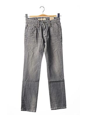 Jeans coupe slim gris TEDDY SMITH pour garçon