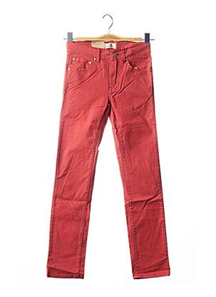 Jeans skinny rouge LEVIS pour fille