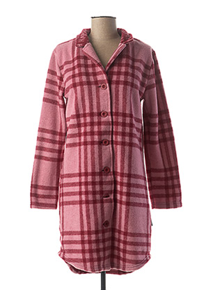 Robe de chambre rose HAPPY pour femme