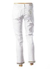 Jeans coupe droite blanc LIU JO pour femme seconde vue