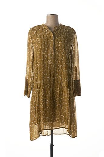 Robe courte vert SAMSOE & SAMSOE pour femme